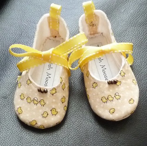Baby Chick shoes by ticklish_moose