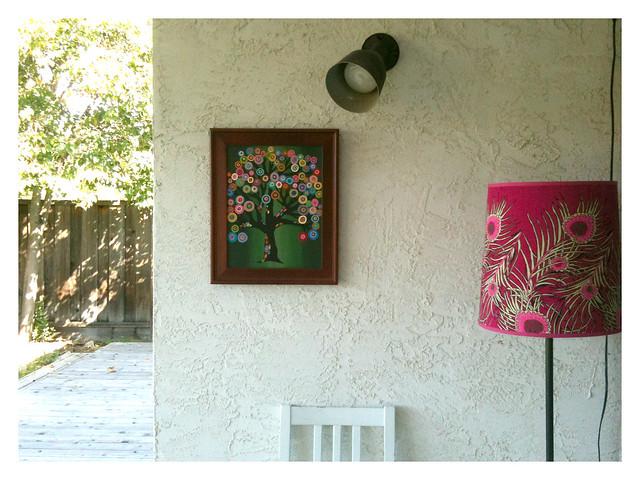 backyard art gallery
