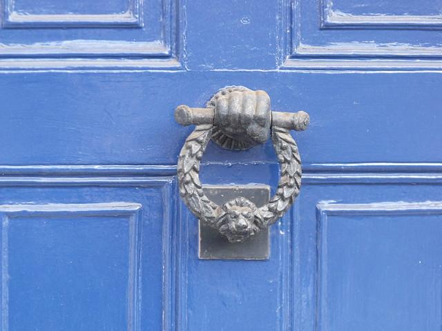 149 - 155 High Street, Henley-in-Arden - door handle on 155 High Street