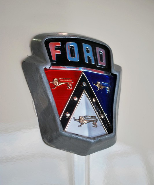 Classic Ford Emblems Decals : Vintage ford emblem flickr photo sharing