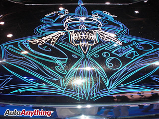 SEMA 2008 -  Hot Paint Jobs (11)