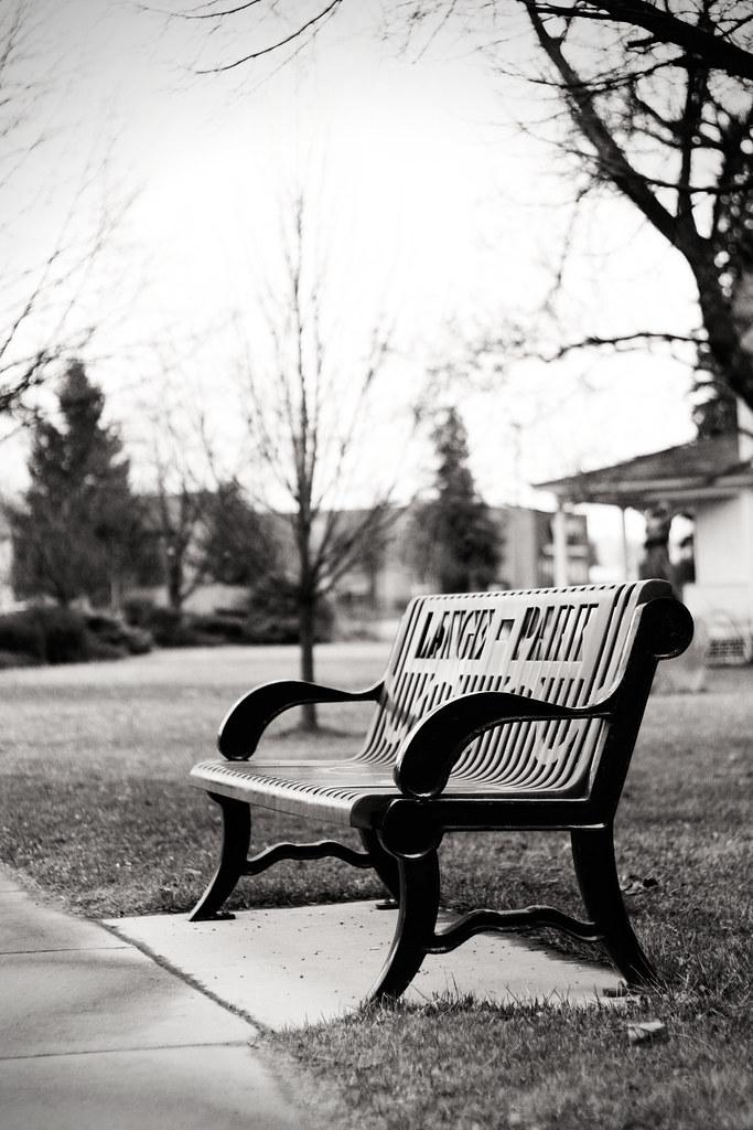 Lange-Park-Bench