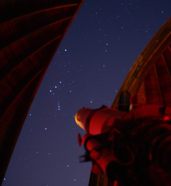 View of Orion from the dome of the 'Telescope Visuale' - Vatican Observatory, Castel Gandolfo, Italy