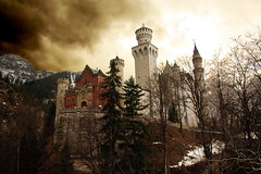 Neuschwanstein from Skywalk