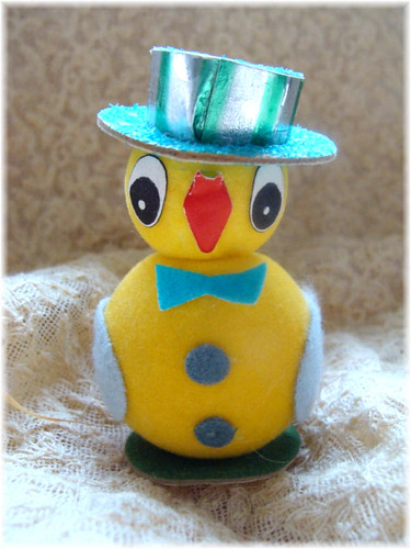 Dapper Easter Chick by Bluebird Becca