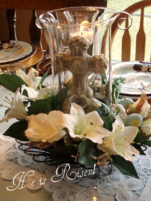 Easter Cross Centerpiece Flickr Photo Sharing