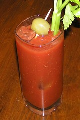 Bloody Mary with Pepper-Infused Vodka