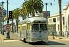 SF Muni Line F - PCC Car 1060 on Embarcadero at Pier 31 by Mega Anorak