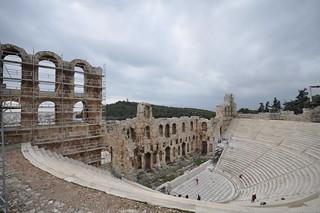 Изображение Herodes Theatre вблизи Афины.