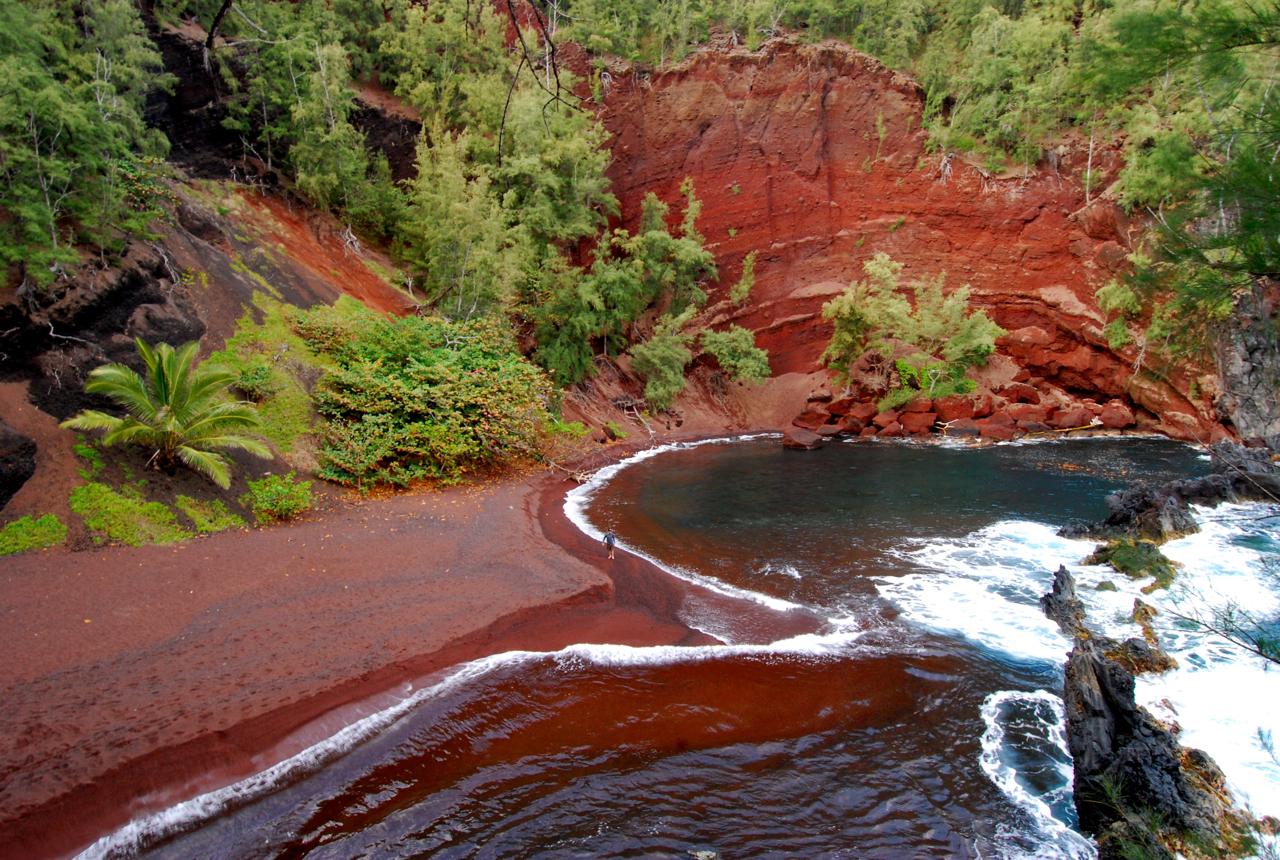 Green Sand Beach Hawaii Island