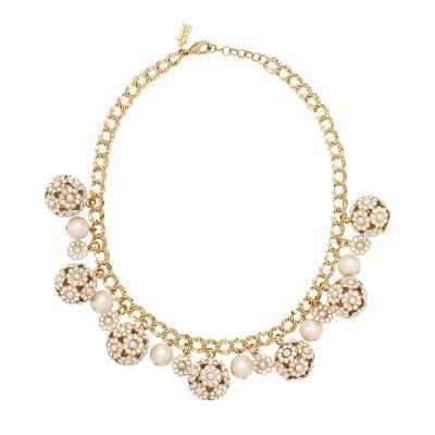 kate spade park avenue pearl charm necklace wedding