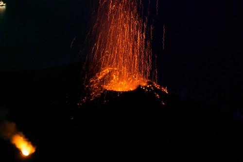 A Strombolian Eruption