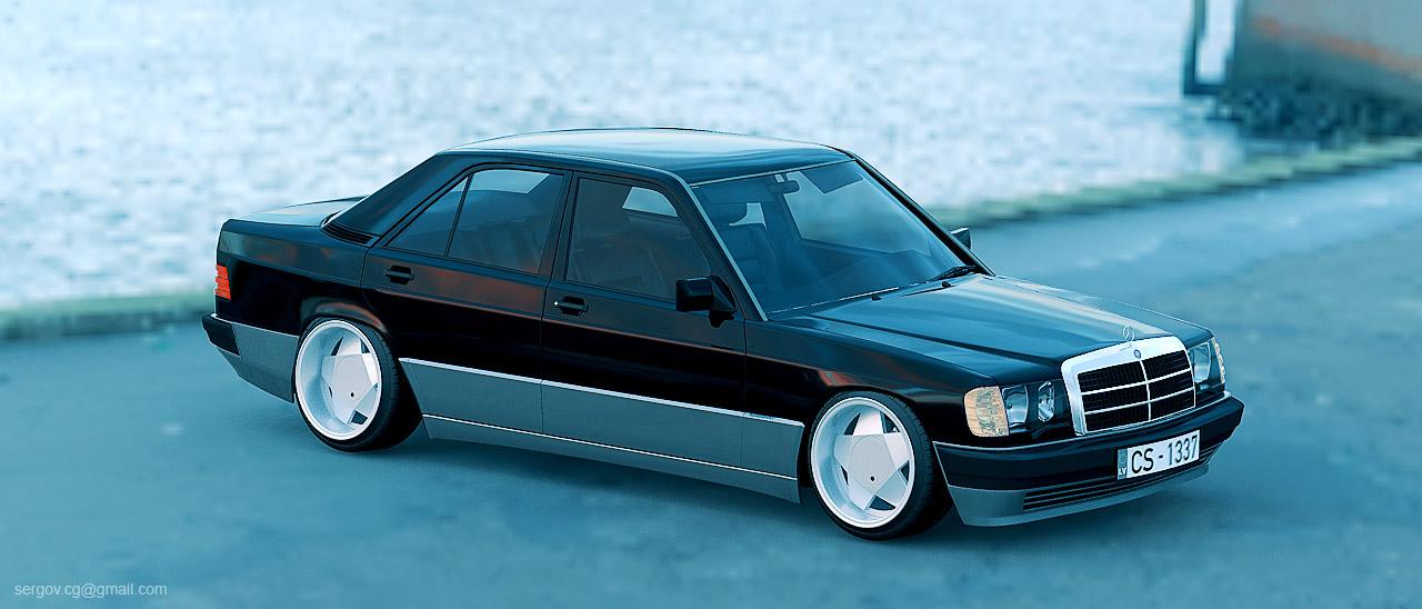 190e on borbet wheels a photo on flickriver for Mercedes benz 190e rims