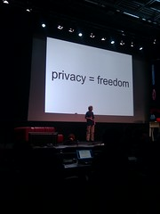 Christian Heller, Privacy = Freedom