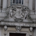 Lloyds Bank, 16 Gentlemans Walk, Norwich - coat of arms