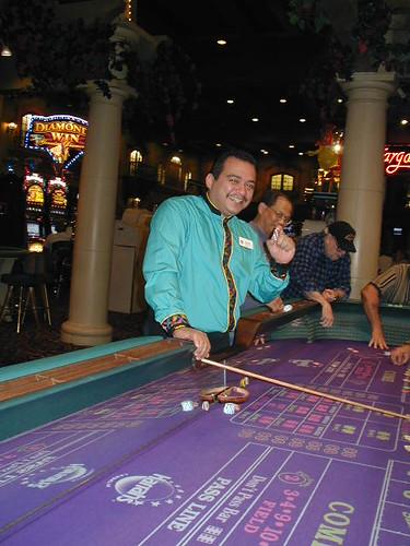 Laughlin, Nevada Casino - Craps Table