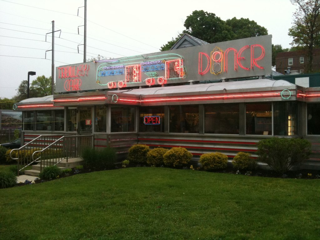 Trolley Car Diner Mt Airy PA