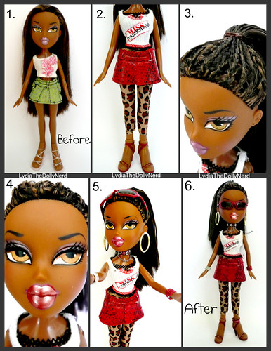 (DEMI) Bratz P4F Top Modelz™ (International Version)- Week 3- Magic Make-Over (6-in-1)