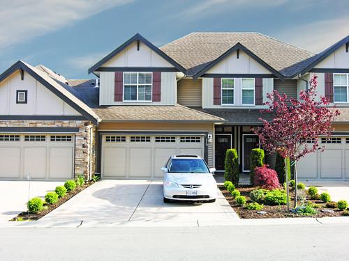 2 car garage huge driveway flickr photo sharing. Black Bedroom Furniture Sets. Home Design Ideas