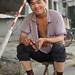 Portrait of a young man, East end of Yanqing Hutong near Xingfu Dajie, Chongwen district, Beijing, China - Saturday, 22nd May 2010