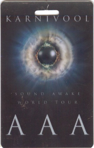 AAA Pass: Sound Awake World Tour - Karnivool, and Fair To Midland