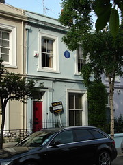 Photo of George Orwell blue plaque