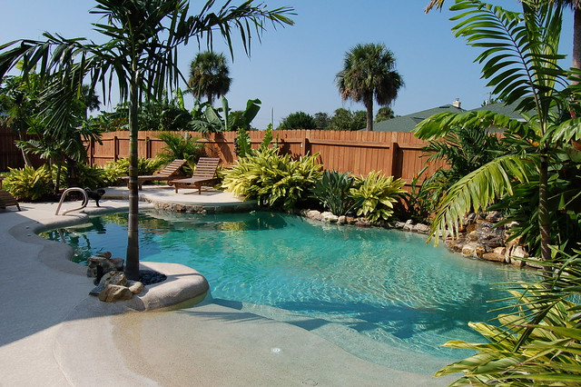 Beach entry flickr photo sharing for Beach entry pool designs