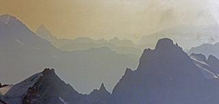 Matterhorn from Aiguilles du Midi, Chamonix, France, 1987