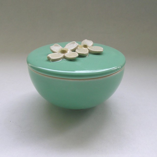 dogwood lidded vessel