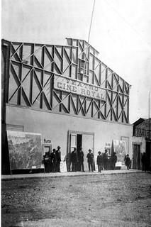 el cine en Serena 1927