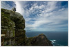 South Africa - Cape Point - Old lighthouse by Lo Scorpione