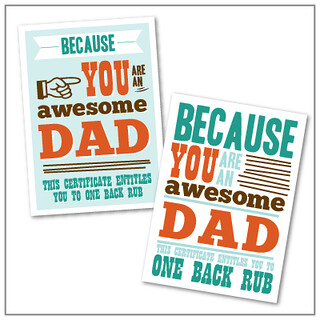 DIY Graphic Design Recipe: Father's Day Cards