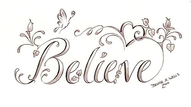 Girly tattoo fonts and lettering for Girly font tattoo