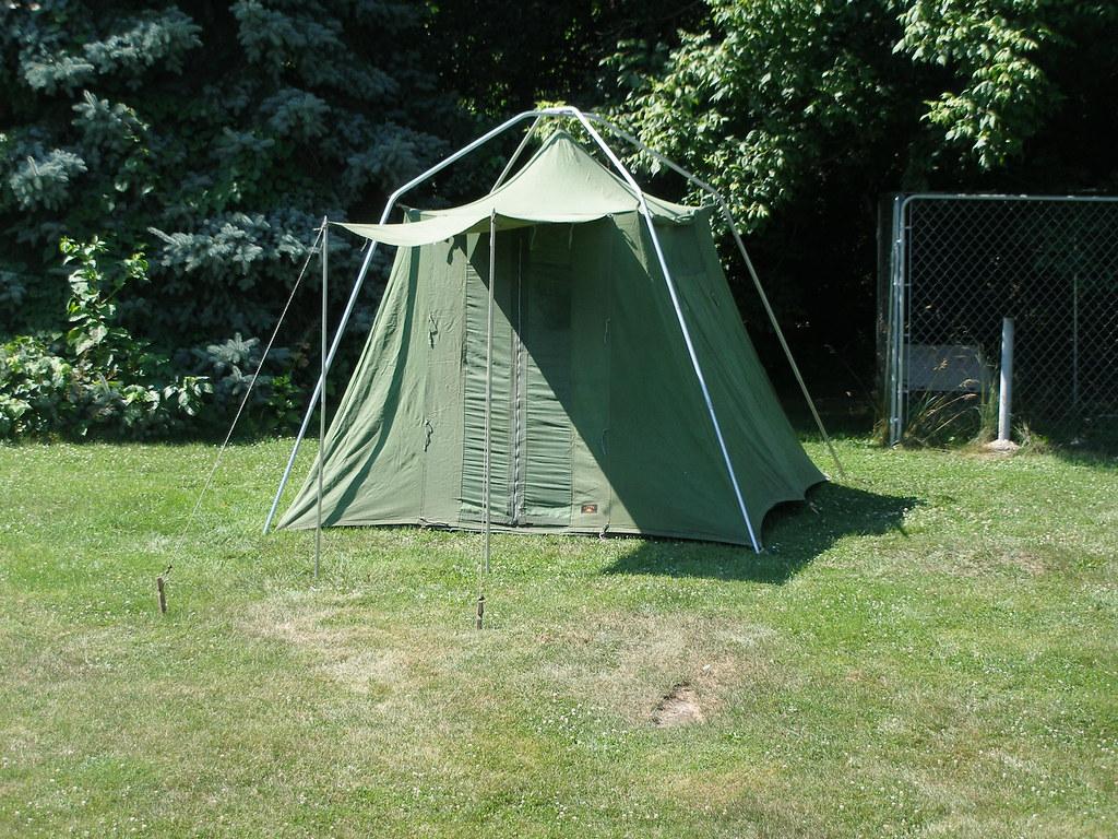 1950u0027s JC Higgins Umbrella Tent & Panther Combou0027s most interesting Flickr photos | Picssr