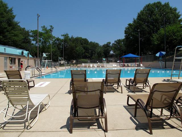 Upshur Swimming Pool Upshur Public Swimming Pool At 4300 A Flickr Photo Sharing