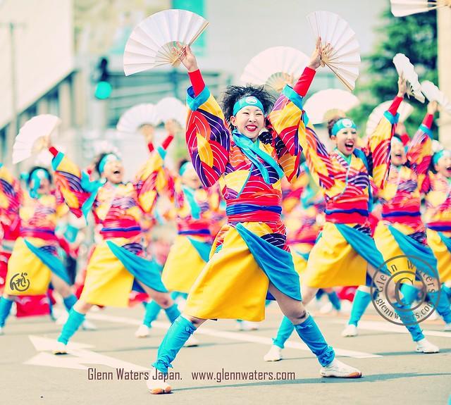 Yosakoi Dance Hirosaki Japan (Hirosaki Japan). © Glenn Waters. Over 2,000 visits to this photo.