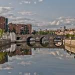 Image of Puente de Segovia. madrid españa