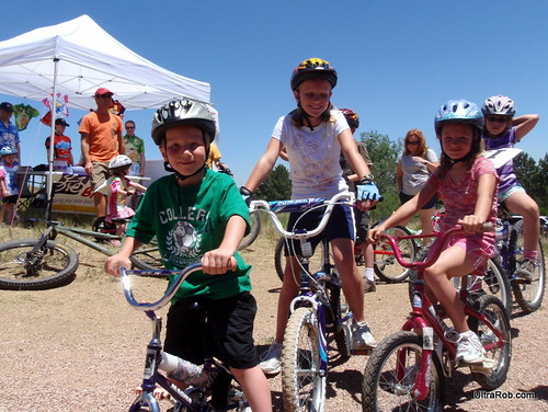 Kids Ready for Kids on Bikes Fun Ride