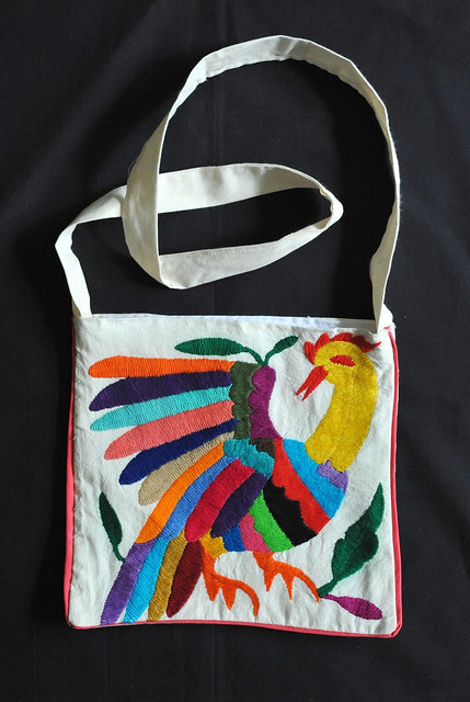 Mexican embroidered bag flickr photo sharing