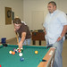 Students Playing Pool at the Hub
