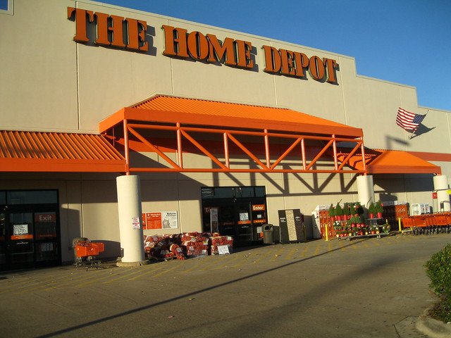 enter the home depot