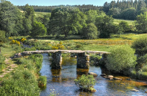 Clapper bridge on Dartmoor