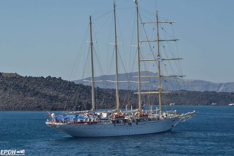 Cruceros de lujo en Santorini