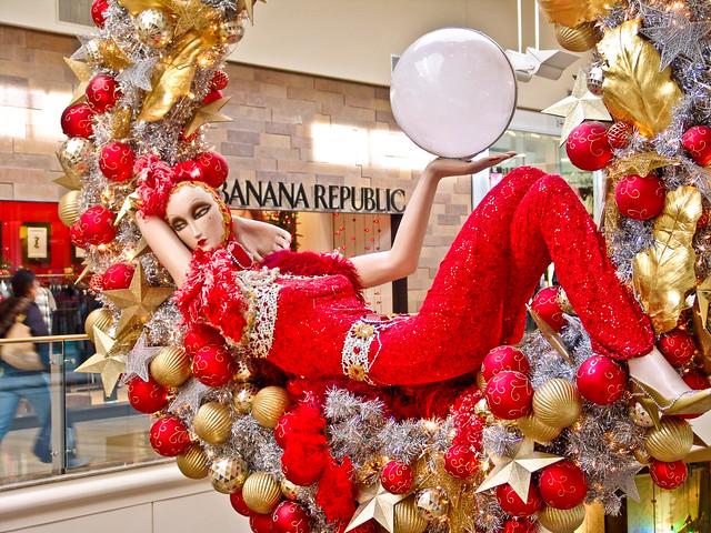 Las Vegas Fashion Show Mall Christmas Decorations Flickr