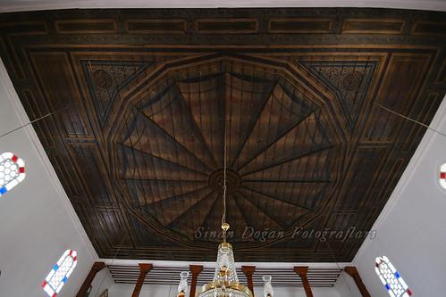 İmaret Camii Ahşap Tavanı