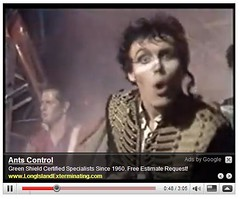 Hurrah for Contextual Ads: Adam Ant Edition