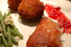 meal, fried food, fish, cutlet, produce, food, dish, cuisine, meatball,