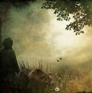 L'ours et l'Amateur des Jardins - The Bear And The Amateur Gardener