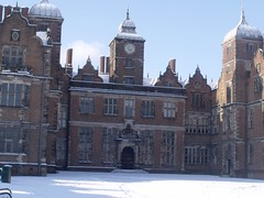 Aston Hall in Aston Park - middle of the hall