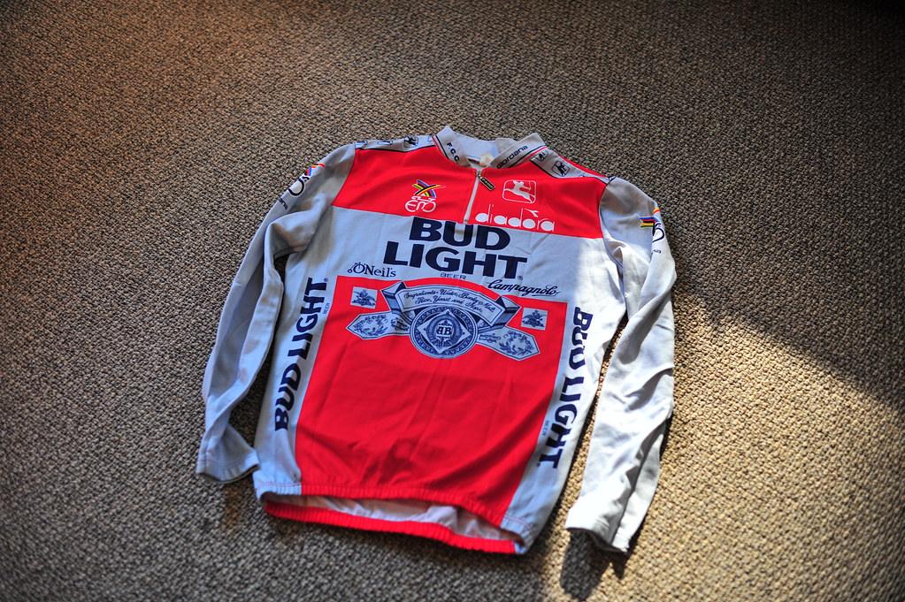 Bud Light Eddy Merckx cycling jersey  c0d70c175